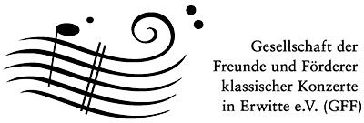 Logo Gesellschaft der Freunde und Förderer klassischer Konzerte in Erwitte e.V.